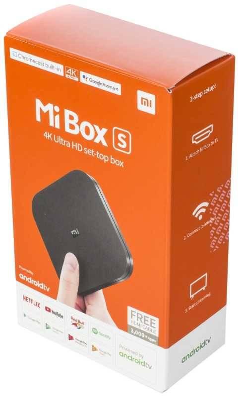 Медиаплеер Xiaomi Mi TV Box S EU - фото 4
