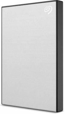 Внешний жесткий диск 1Tb Seagate Backup Plus Slim STHN1000401 серебристый USB 3.0