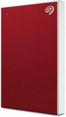 Внешний жесткий диск 2Tb Seagate Backup Plus Slim STHN2000403 красный USB 3.0