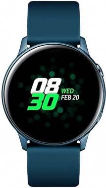 Смарт-часы SAMSUNG Galaxy Watch Active зеленый (SM-R500NZGASER)