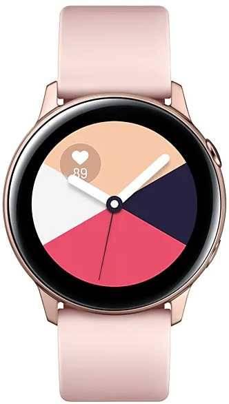 Смарт-часы SAMSUNG Galaxy Watch Active розовое золото (SM-R500NZDASER) - фото 1