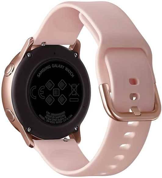 Смарт-часы SAMSUNG Galaxy Watch Active розовое золото (SM-R500NZDASER) - фото 2