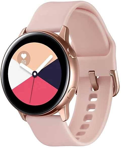 Смарт-часы SAMSUNG Galaxy Watch Active розовое золото (SM-R500NZDASER) - фото 3