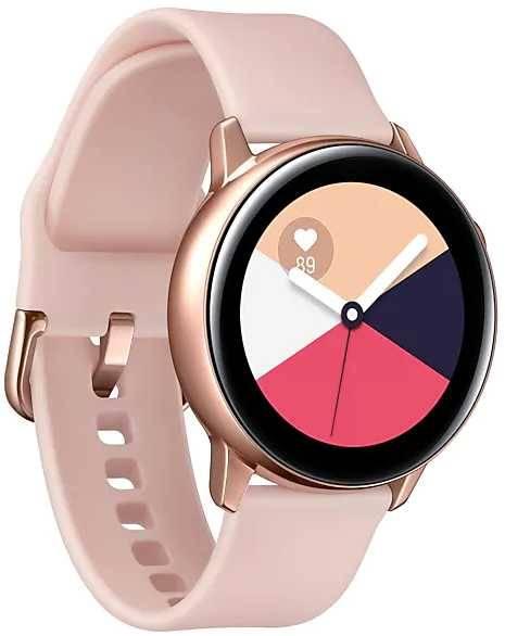 Смарт-часы SAMSUNG Galaxy Watch Active розовое золото (SM-R500NZDASER) - фото 4