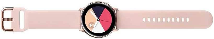 Смарт-часы SAMSUNG Galaxy Watch Active розовое золото (SM-R500NZDASER) - фото 6