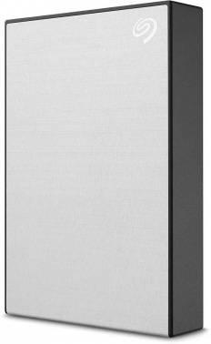 Внешний жесткий диск 5Tb Seagate Backup Plus STHP5000401 серебристый USB 3.0