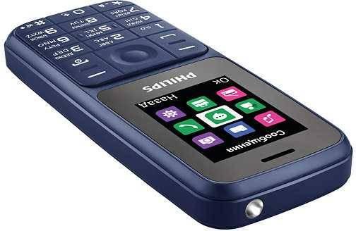 Мобильный телефон Philips Xenium E125 синий (867000159817) - фото 4