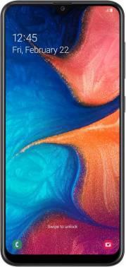 Смартфон Samsung Galaxy A20 SM-A205F 32ГБ черный (SM-A205FZKVSER)