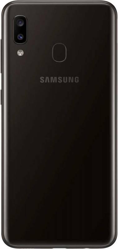 Смартфон Samsung Galaxy A20 SM-A205F 32ГБ черный (SM-A205FZKVSER) - фото 4