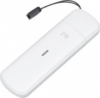Модем 2G/3G/4G ZTE MF833R USB белый