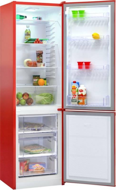 Холодильник Nordfrost NRB 110 832 красный (00000256544) - фото 2