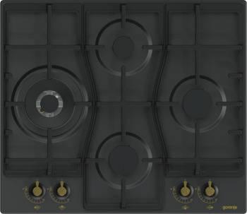 Газовая варочная поверхность Gorenje GW6D41CLB черный