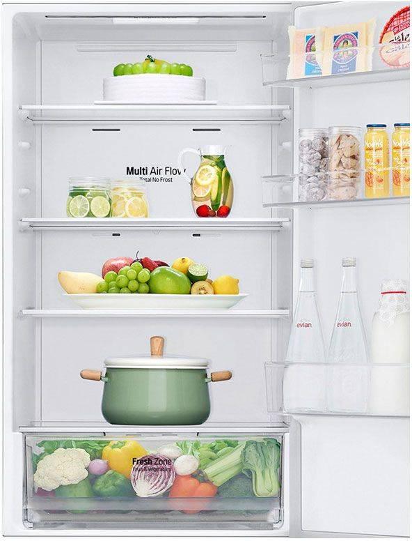 Холодильник LG GA-B459BECL бежевый - фото 3