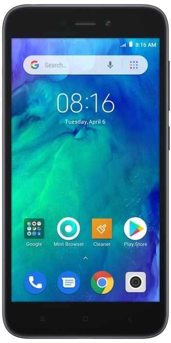 Смартфон Xiaomi Redmi GO 16ГБ черный (22716) - фото 1