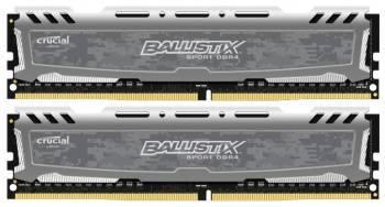 Модуль памяти DIMM DDR4 2x4Gb Crucial (BLS2K4G4D26BFSB)