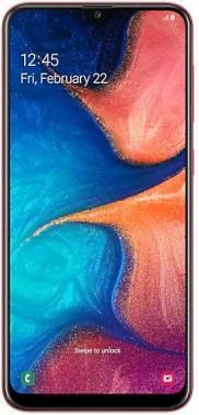 Смартфон Samsung Galaxy A20 SM-A205F 32ГБ красный (SM-A205FZRVSER)