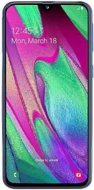 Смартфон Samsung Galaxy A40 SM-A405F 64ГБ синий (SM-A405FZBGSER)