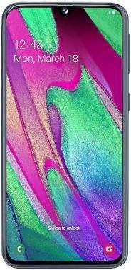 Смартфон Samsung Galaxy A40 SM-A405F 64ГБ черный (SM-A405FZKGSER)