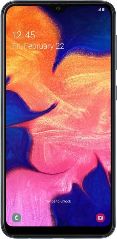 Смартфон Samsung Galaxy A10 SM-A105F 32ГБ черный (SM-A105FZKGSER) - фото 1