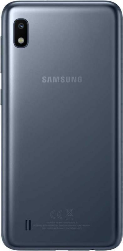 Смартфон Samsung Galaxy A10 SM-A105F 32ГБ черный (SM-A105FZKGSER) - фото 2