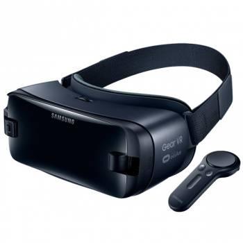 Очки виртуальной реальности SAMSUNG Galaxy Gear VR SM-R325 темно-синий (SM-R325NZVDSER)