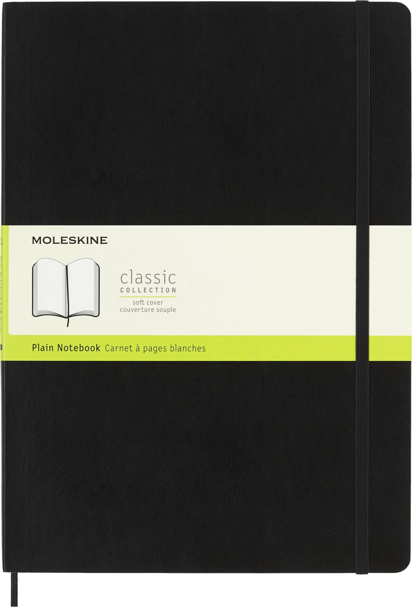 Блокнот Moleskine Classic Soft A4 черный (QP643) - фото 1