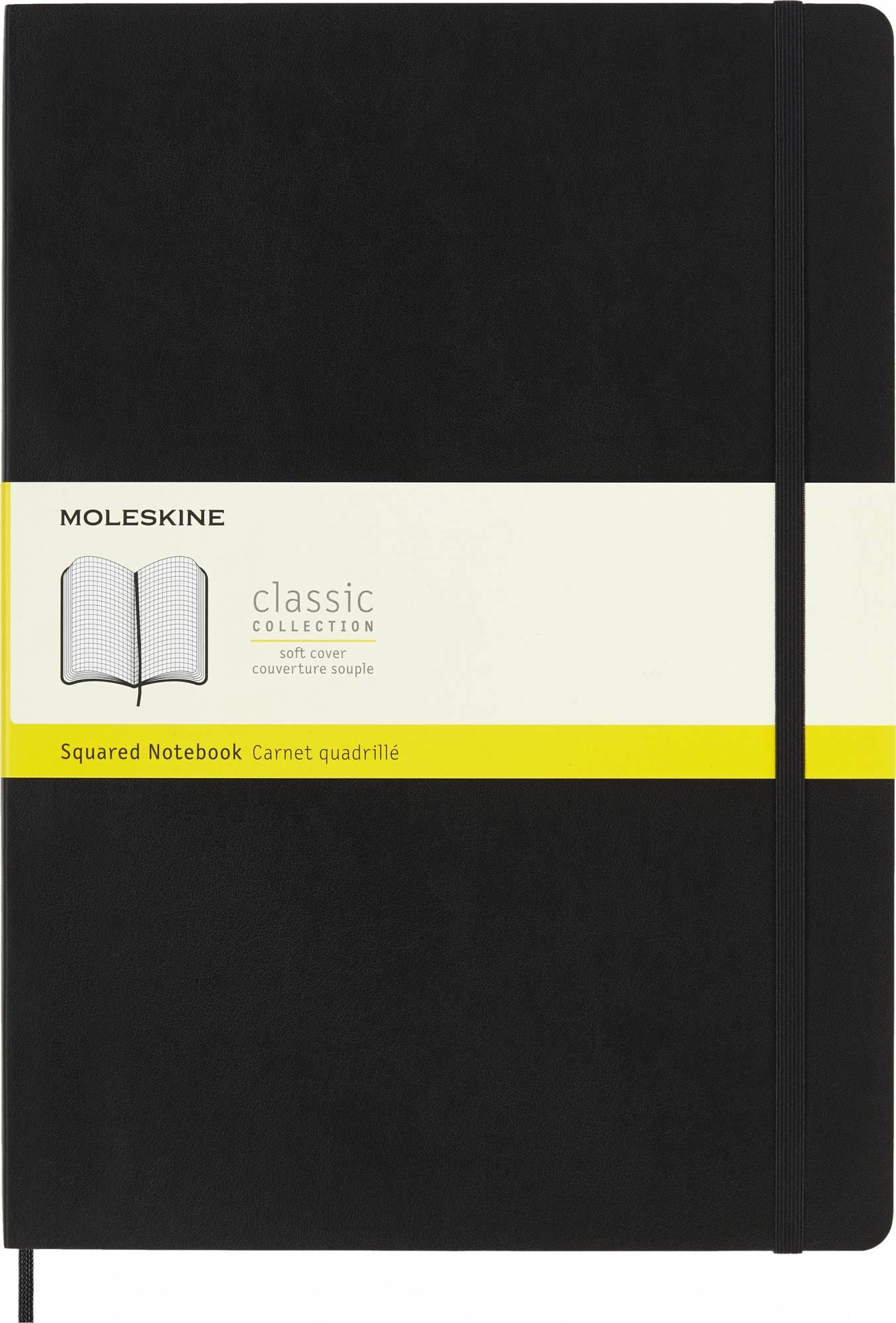 Блокнот Moleskine Classic Soft A4 черный (QP642) - фото 1