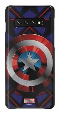 Чехол Samsung Marvel Case Camerica, для Samsung Galaxy S10, синий (GP-G973HIFGKWC)