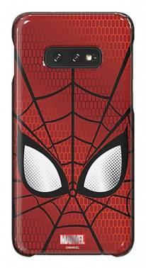 Чехол Samsung Marvel Case Spiderman, для Samsung Galaxy S10e, красный (GP-G970HIFGHWD)