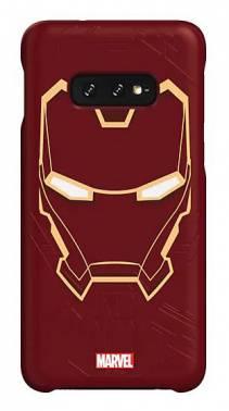 Чехол Samsung Marvel Case IronMan, для Samsung Galaxy S10e, красный (GP-G970HIFGHWB)