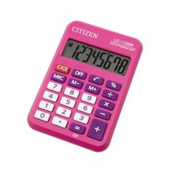 Калькулятор карманный Citizen Cool4School LC110NRPK розовый
