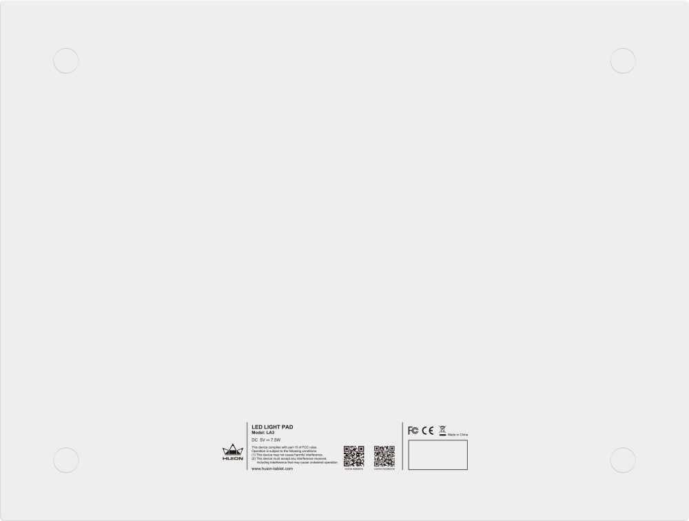 Графический планшет Huion LA3 черный - фото 7