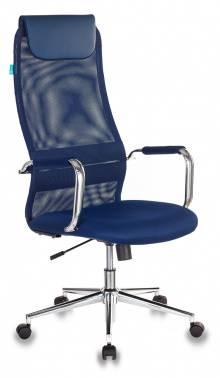 Кресло руководителя Бюрократ KB-9N синий (kb-9n/db/tw-10n)