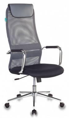Кресло руководителя Бюрократ KB-9N/DG/TW-12 серый