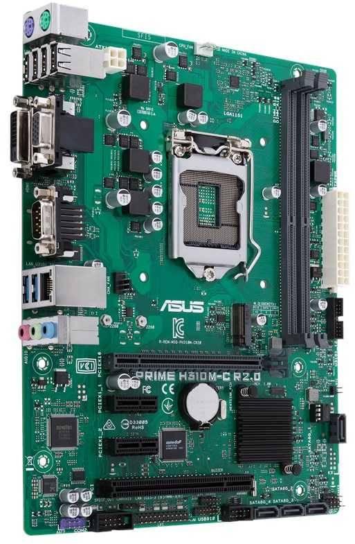 Материнская плата Asus PRIME H310M-C R2.0 Soc-1151v2 mATX - фото 2