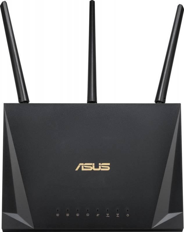 Маршрутизатор беспроводной Asus RT-AC65P черный - фото 1