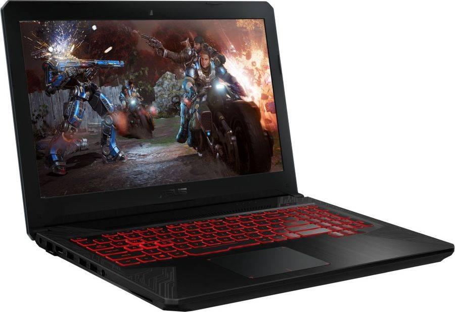 "Ноутбук 15.6"" Asus TUF Gaming FX504GD-E41146T серый (90NR00J3-M20260) - фото 2"