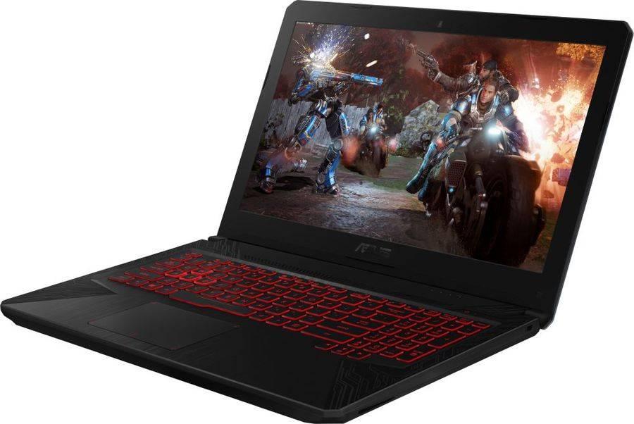 "Ноутбук 15.6"" Asus TUF Gaming FX504GD-E41146T серый (90NR00J3-M20260) - фото 3"