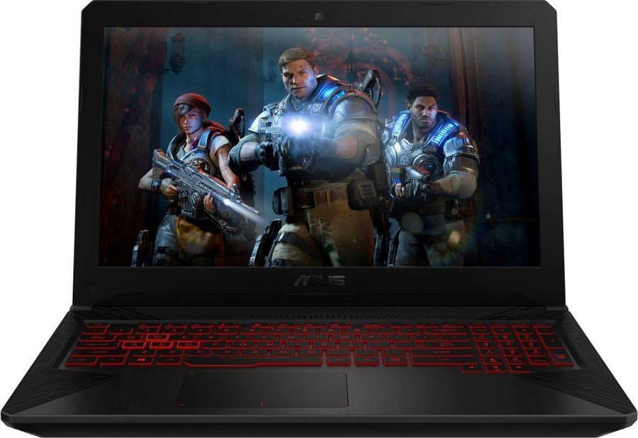 "Ноутбук 15.6"" Asus TUF Gaming FX504GM-E4442 серый (90NR00Q3-M09510) - фото 1"