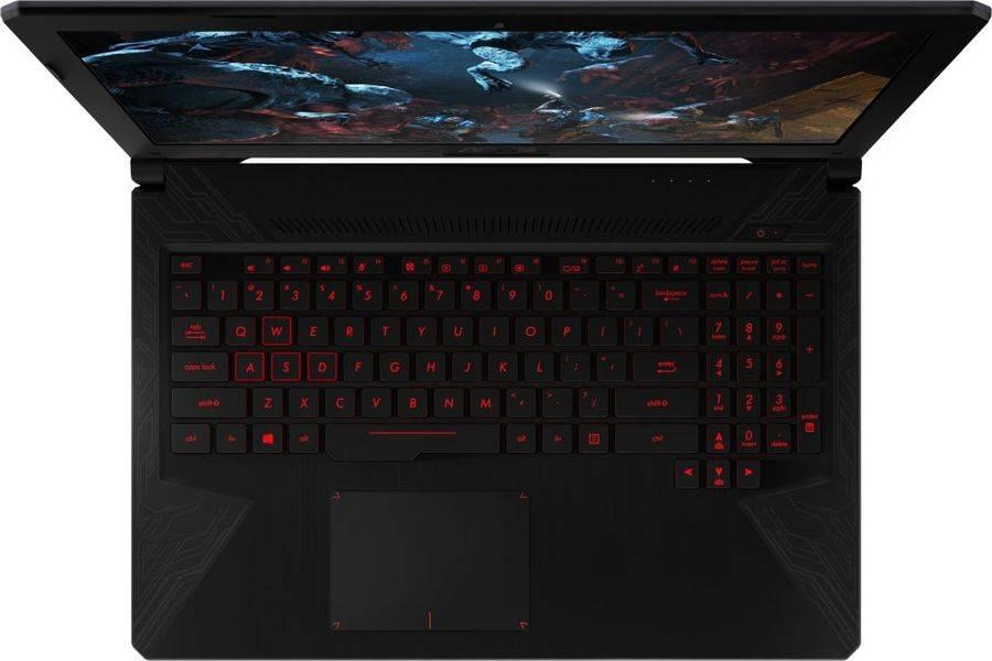 "Ноутбук 15.6"" Asus TUF Gaming FX504GM-E4442 серый (90NR00Q3-M09510) - фото 4"