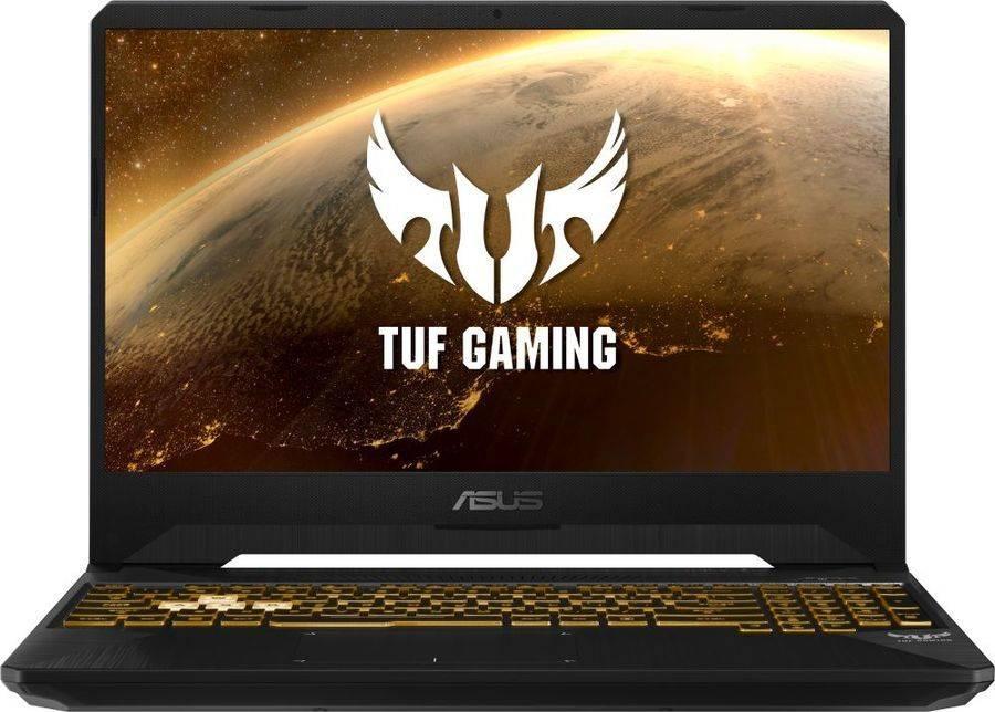 "Ноутбук 15.6"" Asus TUF Gaming FX505GD-BQ253 темно-серый (90NR00T1-M04700) - фото 1"