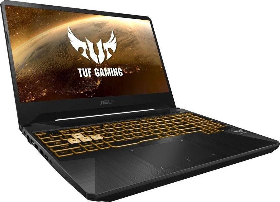 "Ноутбук 15.6"" Asus TUF Gaming FX505GD-BQ253 темно-серый (90NR00T1-M04700) - фото 2"