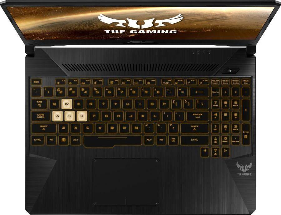 "Ноутбук 15.6"" Asus TUF Gaming FX505GD-BQ253 темно-серый (90NR00T1-M04700) - фото 6"