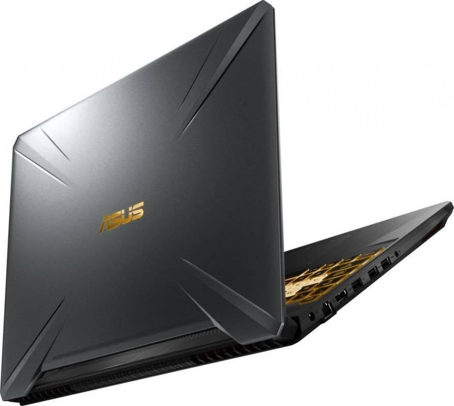 "Ноутбук 15.6"" Asus TUF Gaming FX505GD-BQ261T темно-серый (90NR00T3-M04900) - фото 7"