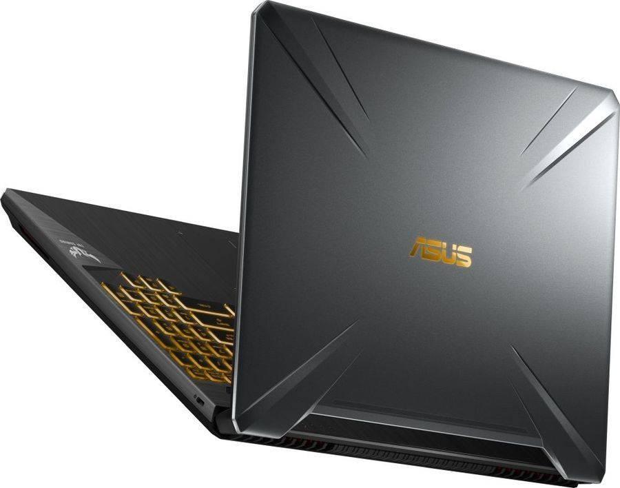 "Ноутбук 15.6"" Asus TUF Gaming FX505GD-BQ261T темно-серый (90NR00T3-M04900) - фото 8"