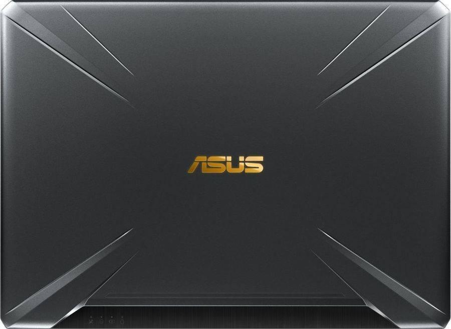 "Ноутбук 15.6"" Asus TUF Gaming FX505GD-BQ261T темно-серый (90NR00T3-M04900) - фото 9"