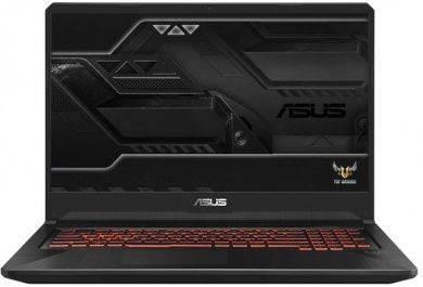 "Ноутбук 17.3"" Asus TUF Gaming FX705GE-EW228 темно-серый (90NR00Z2-M05680) - фото 1"