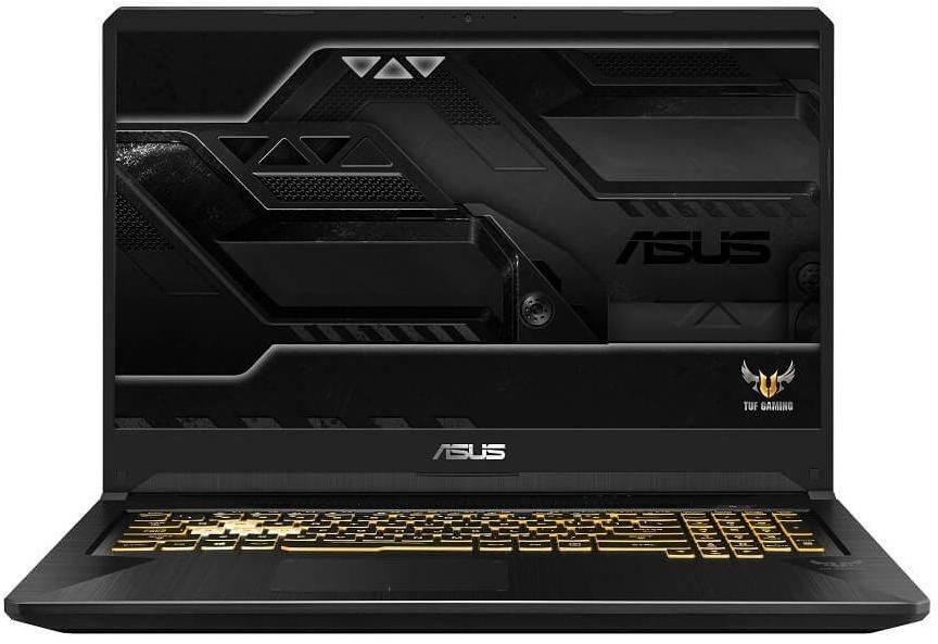 "Ноутбук 17.3"" Asus TUF Gaming FX705GE-EW182 темно-серый (90NR00Z1-M03670) - фото 1"
