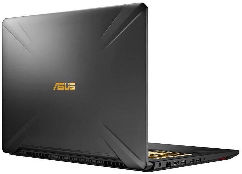 "Ноутбук 17.3"" Asus TUF Gaming FX705GE-EW182 темно-серый (90NR00Z1-M03670) - фото 4"