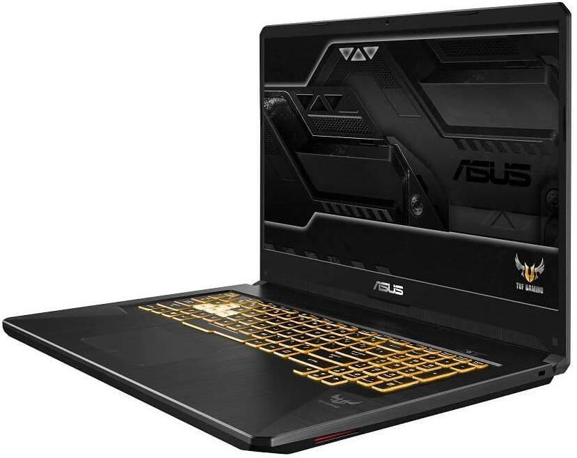 "Ноутбук 17.3"" Asus TUF Gaming FX705GM-EW181 темно-серый (90NR0121-M04110) - фото 2"